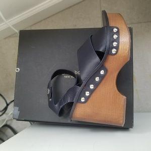 Rag and Bone Shoes - Rag and Bone Navy Hester Sandal